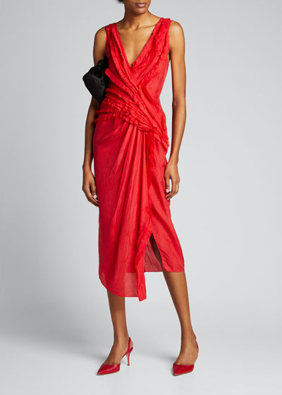 Silk Habutai Cocktail Dress