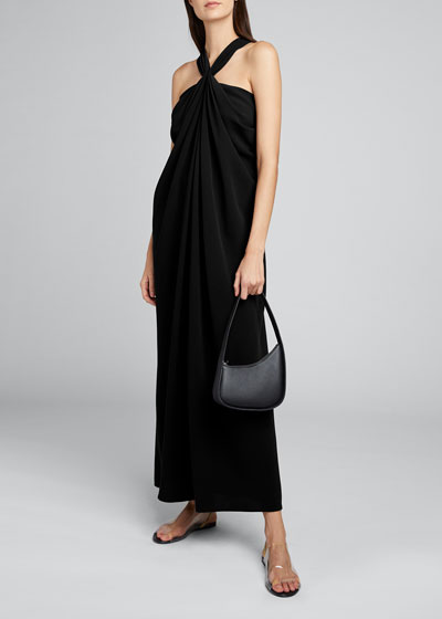 Loon Twisted Halter-Neck Dress