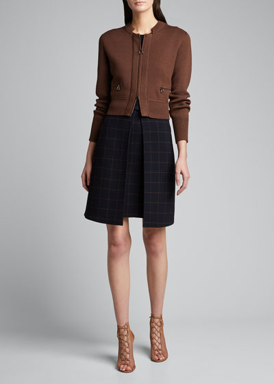 Wool Silk Cardigan