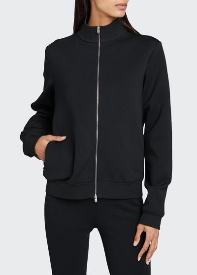 Atomie Jersey Zip-Front Jacket