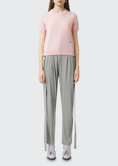 Constance Cashmere Crewneck Sweater
