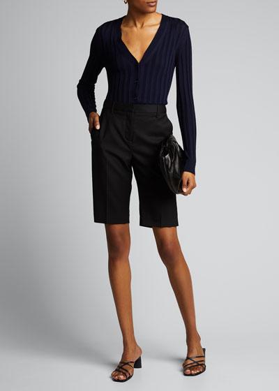 Montreal Wool Bermuda Shorts