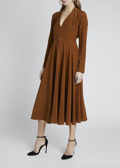 Open-Back Detailed Dress