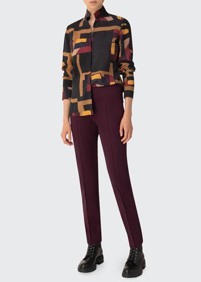Orphisme Wool Tunic Blouse