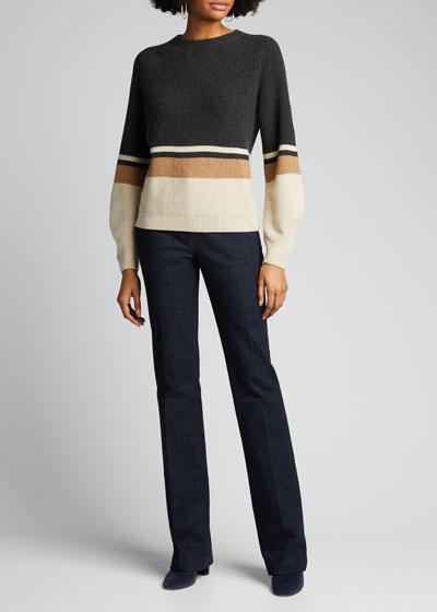 Rigato Lexington Striped Cashmere Sweater