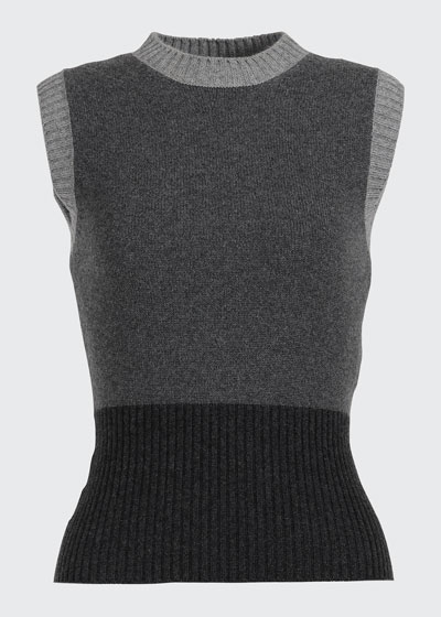 Wall Street Colorblock Cashmere Sweater