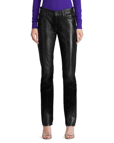 Velvet Slim-Leg Jeans