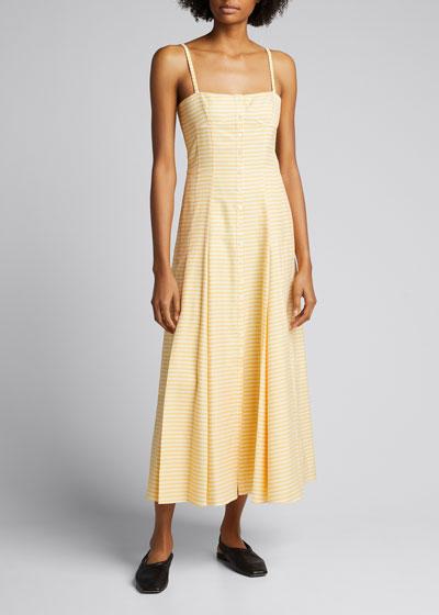 Prudence Cotton A-Line Maxi Dress
