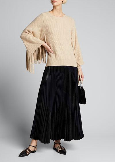 Ribbed Virgin Wool Sweater |