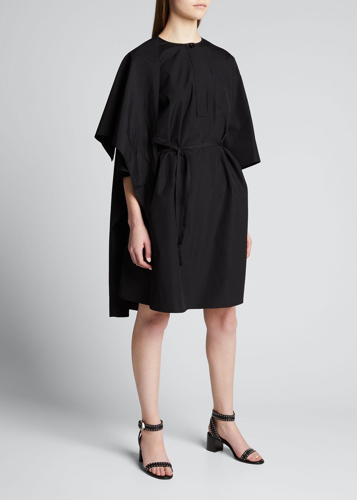 Givenchy LOGO BANDANA HALF-SLEEVE DRESS