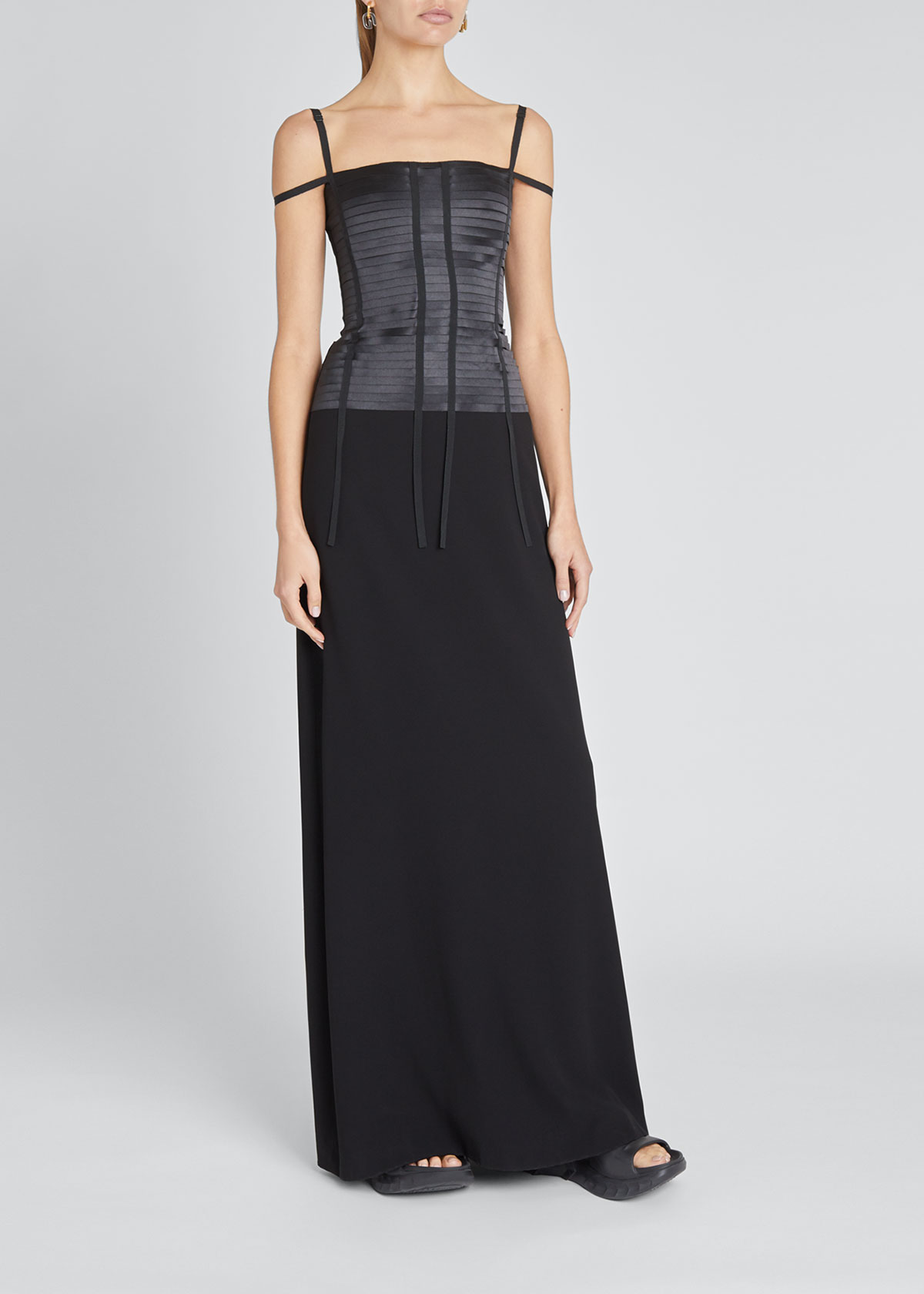 Givenchy Gowns BANDED BUSTIER-TOP GOWN