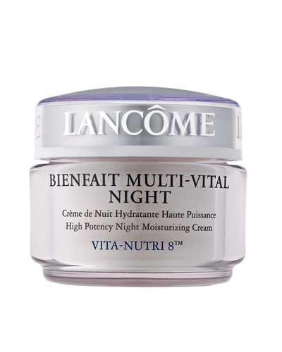 Bienfait Multi-Vital Night Cream - Highly Potent Overnight Face Moisturizer, 1.7 oz./ 50 mL