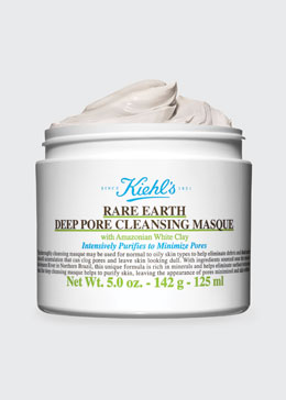 Kiehl's Since 1851 Rare Earth Deep Pore Cleansing Masque, 5.0 oz.