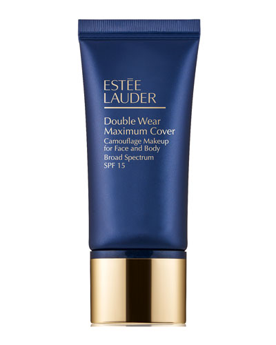 Double Wear Maximum Cover Camouflage Makeup for Face and Body Broad Spectrum SPF 15