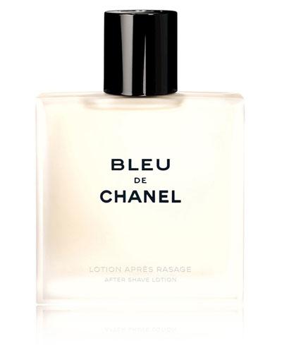 <b>BLEU DE CHANEL </b><br> After Shave Lotion 3.4 oz.