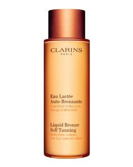 Clarins Liquid Bronze Self-Tanning for Face & Decollete