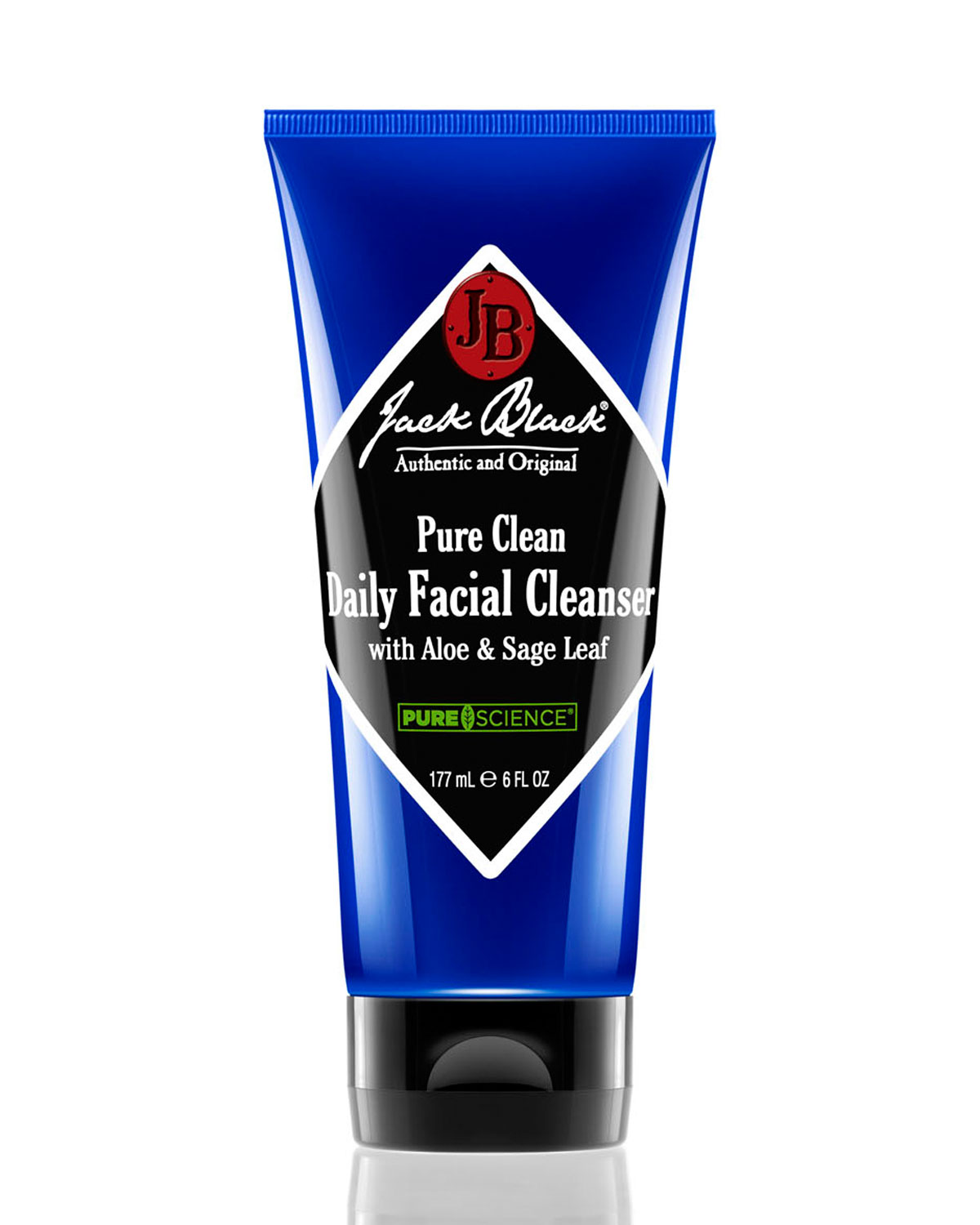 Pure Clean Daily Facial Cleanser, 6 Oz., No Color