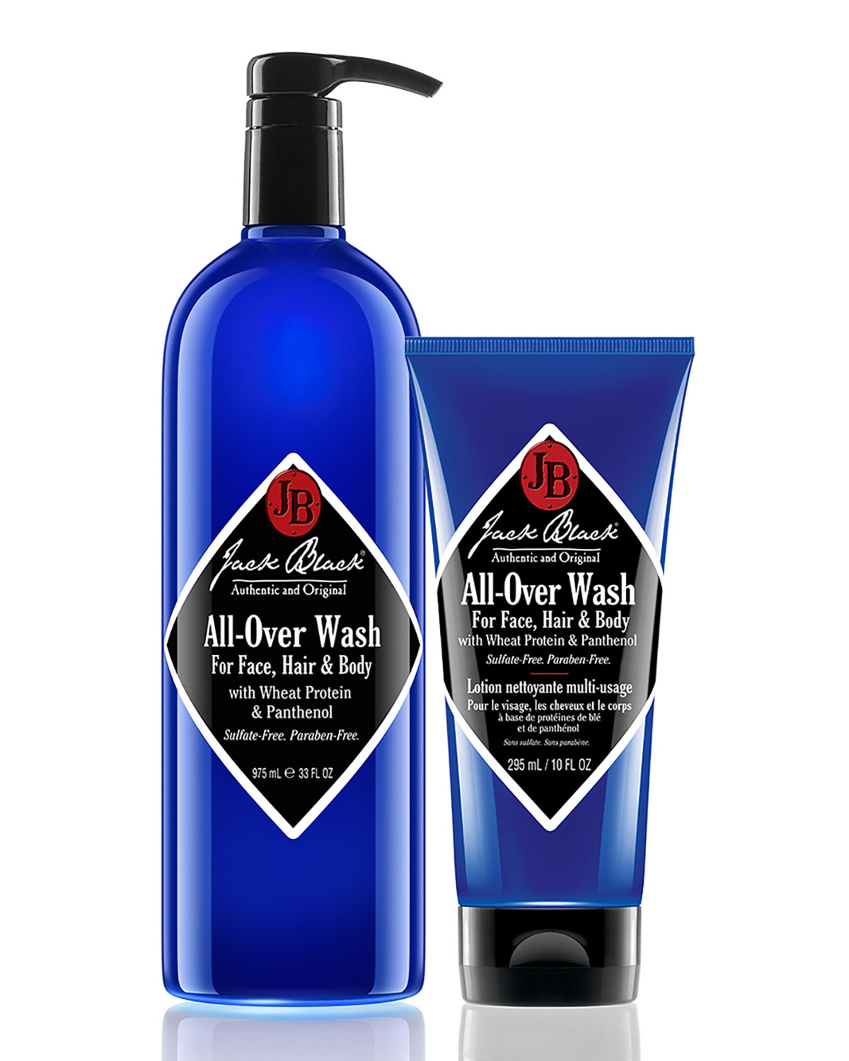 All-Over Wash For Face, Hair & Body 33 Oz/ 976 Ml, No Color