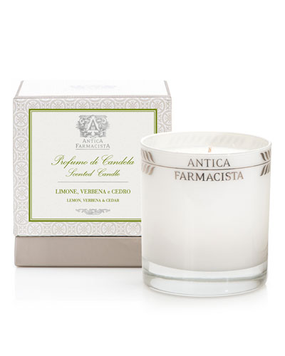 Lemon, Verbena & Cedar Scented Candle, 9 oz.