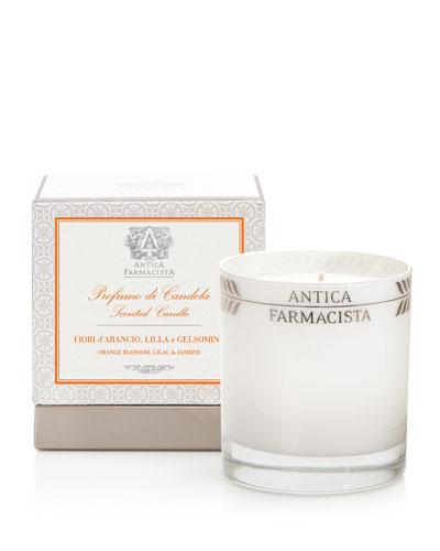 Orange Blossom, Lilac & Jasmine Scented Candle, 9 oz.
