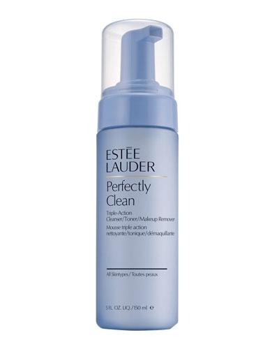 Estee Lauder Perfectly Clean Triple-Action Cleanser/Toner/Makeup