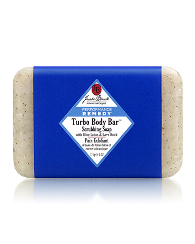 JACK BLACK Turbo Body Bar(Tm) Scrubbing Soap 6 Oz/ 171 G