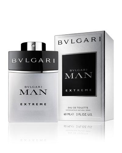 Bvlgari Man Extreme Eau De Toilette, 2.0 oz./ 60 mL