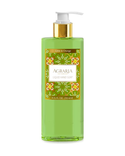 Lime & Orange Blossoms Liquid Hand Soap
