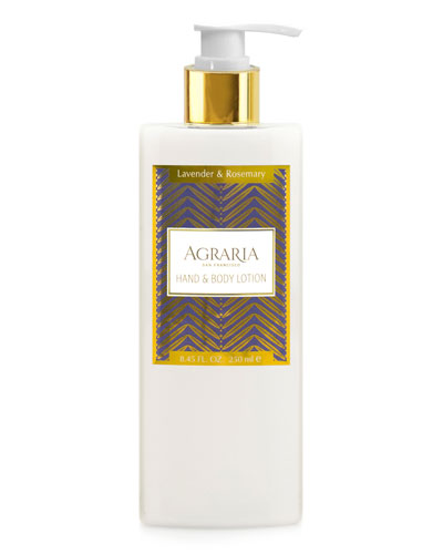 Agraria Lavender Rosemary Hand & Body Lotion