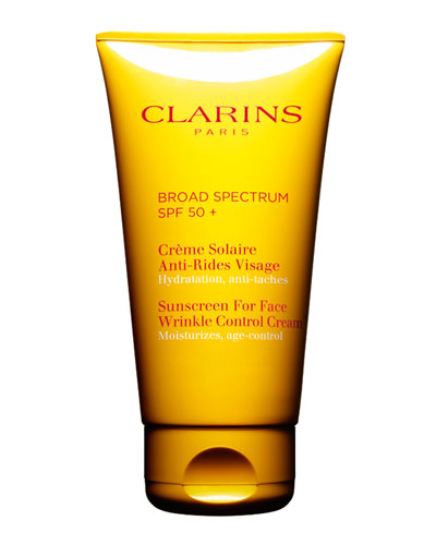 Clarins Sunscreen for Face, Wrinkle Control Cream SPF