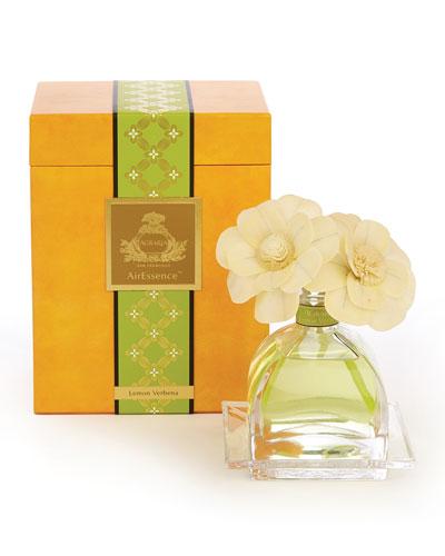 Lemon Verbena AirEssence Sola Flower Diffuser, 7.4 oz.