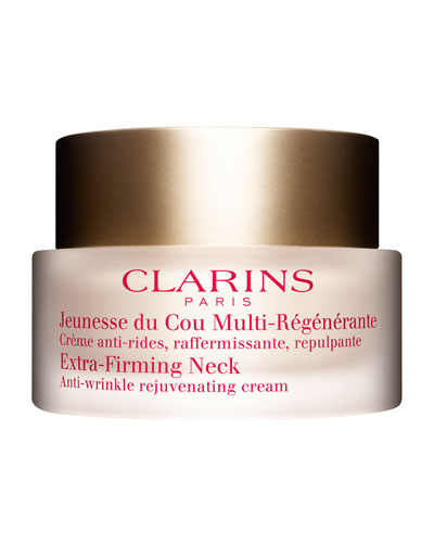 Clarins Extra-Firming Neck Anti-Wrinkle Rejuvenating Cream