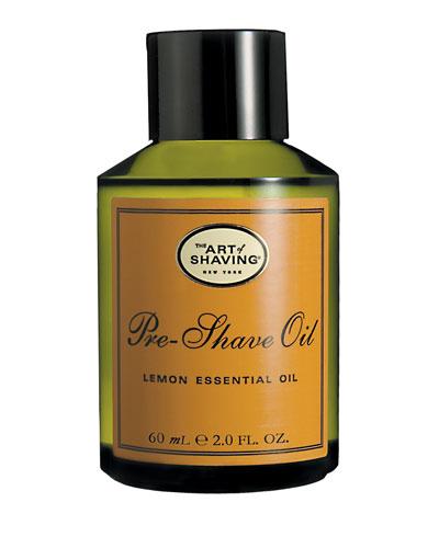 Pre-Shave Oil Lemon, 2oz