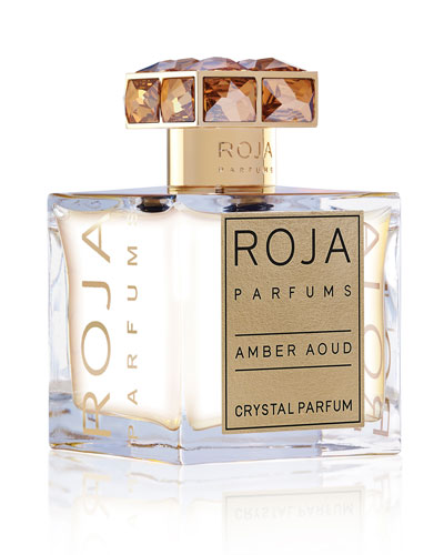 Amber Aoud Crystal Parfum, 3.4 oz./ 100 mL