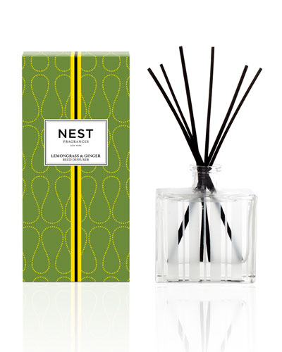 Lemongrass & Ginger Reed Diffuser, 5.9 oz.