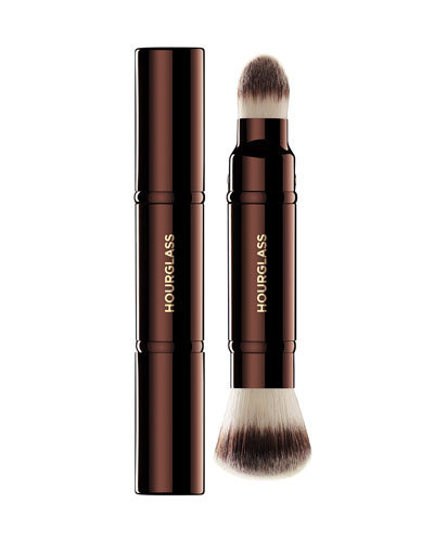 Hourglass Cosmetics Retractable Double-Ended Complexion Brush