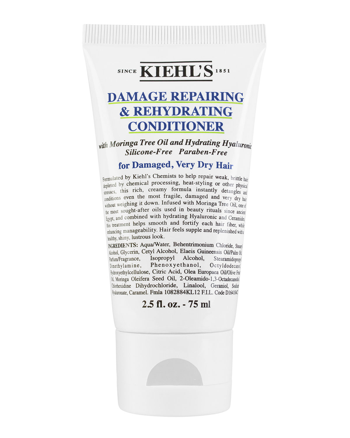 1851 Damage Repairing & Rehydrating Conditioner, Travel Size 2.5 Oz.