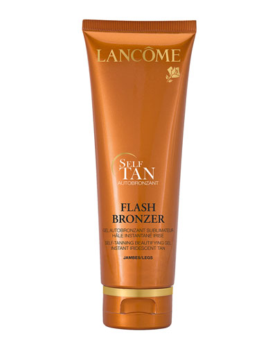 Flash Bronzer Tinted Self-Tanning Leg Gel with Pure Vitamin E, 4.2 oz.
