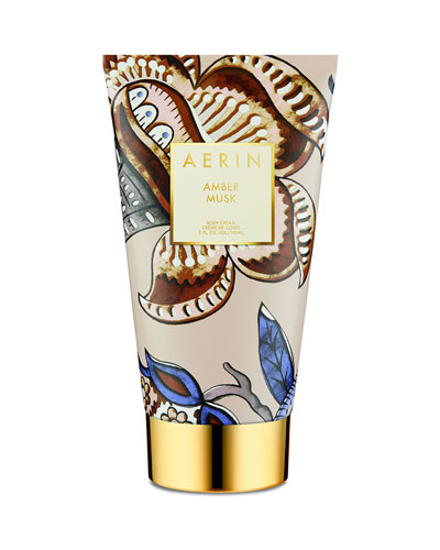 Amber Musk Body Cream, 5 oz./ 150 mL