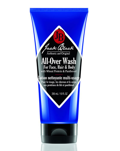 All Over Wash for Face, Hair, and Body, 10 oz.