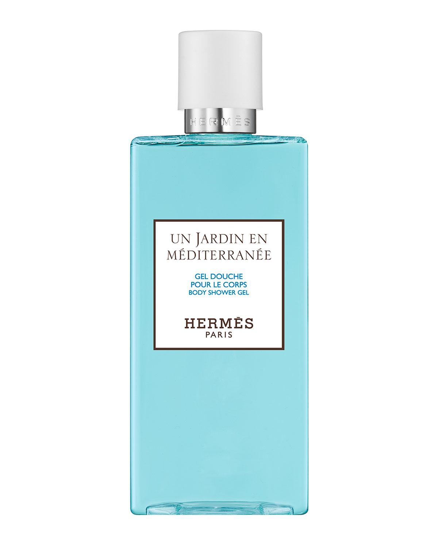 Herm S UN JARDIN EN MÉDITERRAN & #233E - BODY SHOWER GEL, 6.5 OZ./ 200 ML