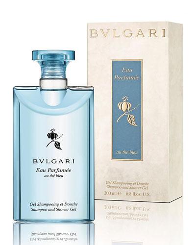 Eau Parfumée Au Thé Bleu Shampoo and Shower Gel, 6.8 oz.