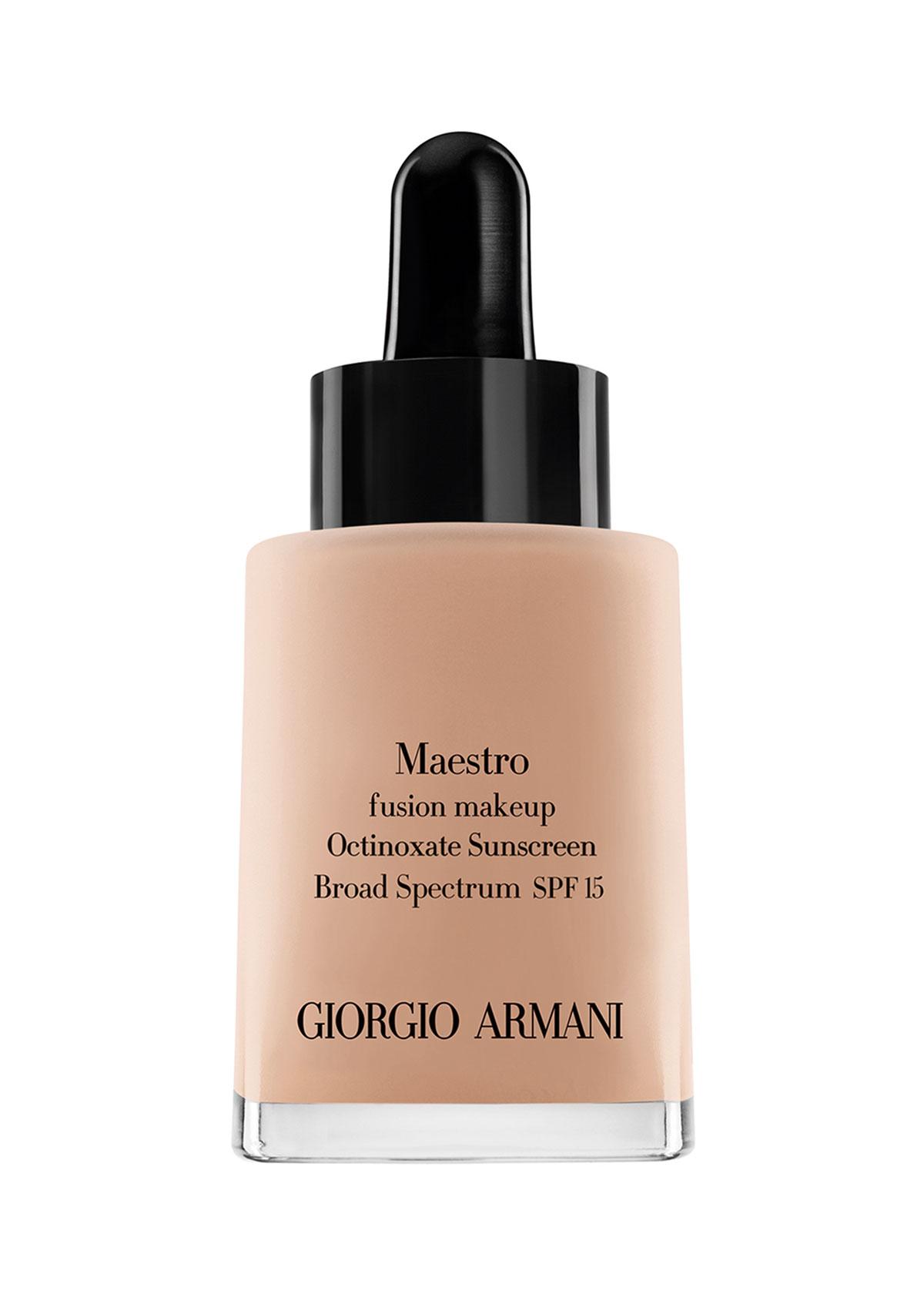 GIORGIO ARMANI Maestro Fusion Makeup Octinoxate Sunscreen Spf 15 3 1 Oz/ 30 Ml