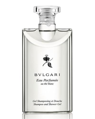 Eau Parfumee Au The Blanc Shampoo and Shower Gel, 6.8 oz.
