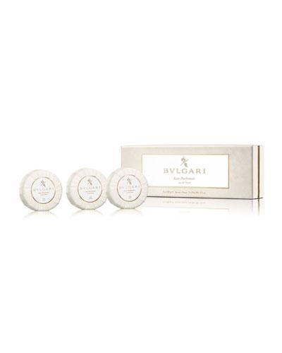 BVLGARI Eau Parfumée Au Thé Blanc Soap Set,
