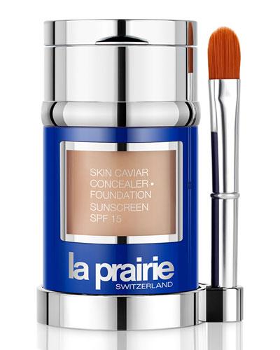Skin Caviar Concealer - Foundation Sunscreen SPF 15, 1.0 oz.