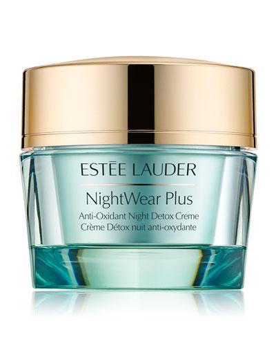 Estee Lauder NightWear Plus Anti-Oxidant Night Detox Crème,