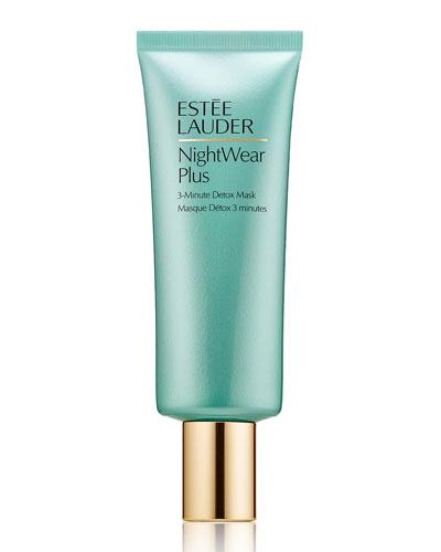 Estee Lauder NightWear Plus 3-Minute Detox Mask, 2.5