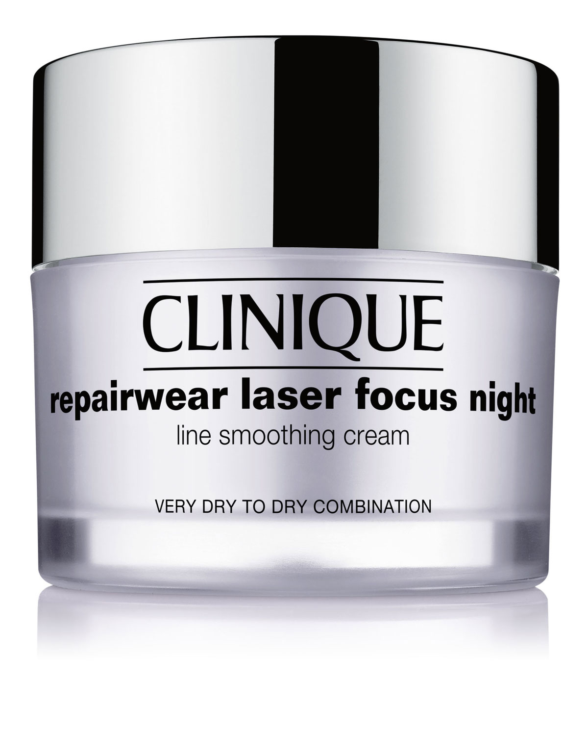 Repairwear Laser Focus Night Line Smoothing Cream For Very Dry To Dry Combination Skin 1.7 Oz/ 50 Ml