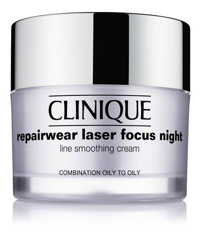 Repairwear Laser Focus Night Line Smoothing Cream - Combination Oily to Oily, 1.7 oz.